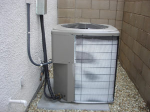 frozen heat pump